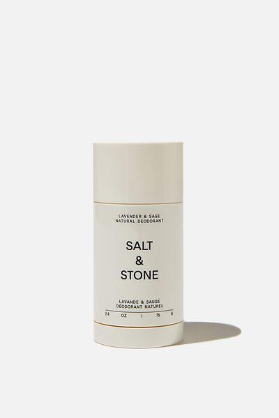 Salt & Stone Deodorant All Natural, LAVENDER