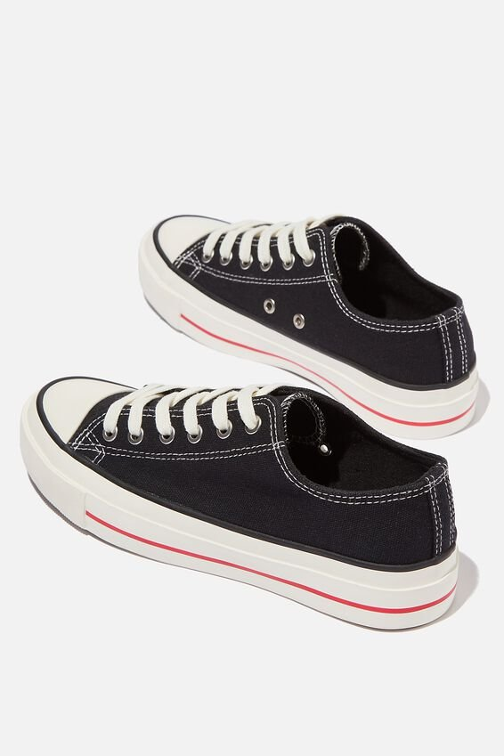 Billie Retro Low Rise, BLACK