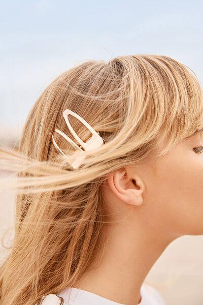 Meghan Salon Hair Slide, GOLD