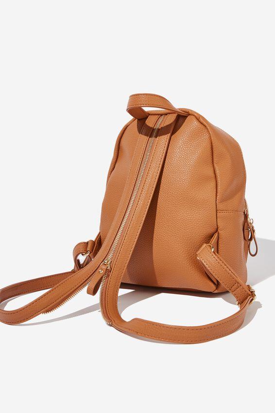 Zip It Backpack, TAN