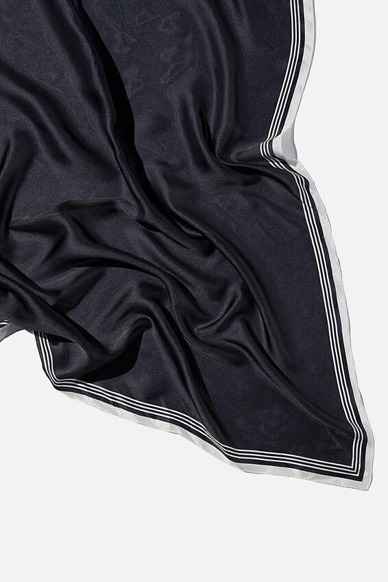 Versatile Scarf, BLACK