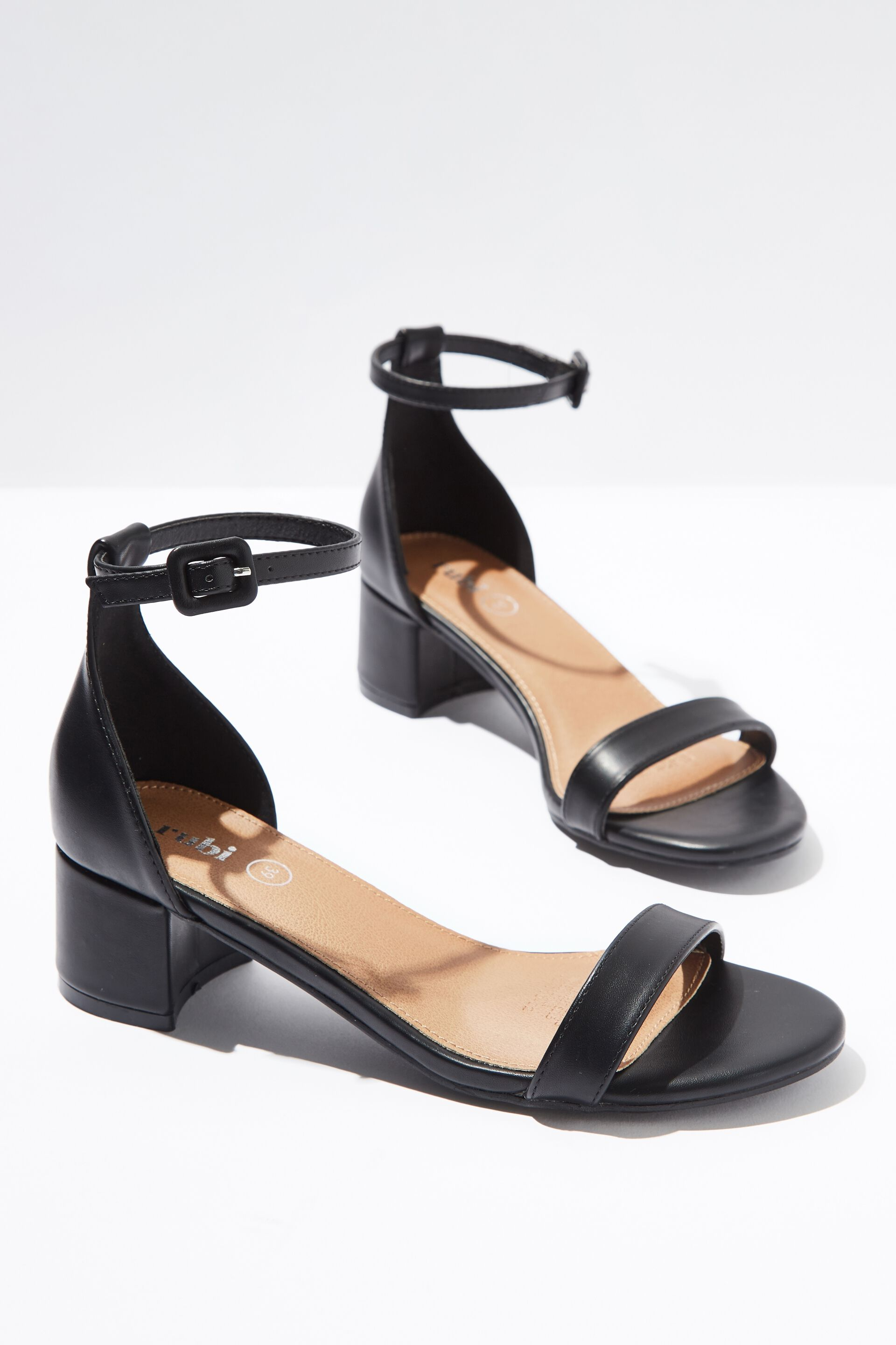 Lizzie Low Block Heel