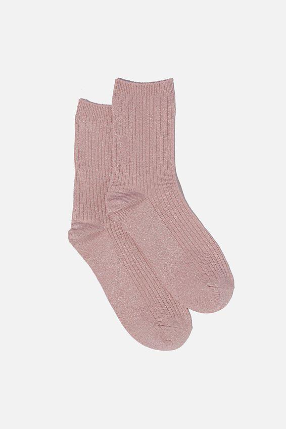Sparkle Sock, LILAC