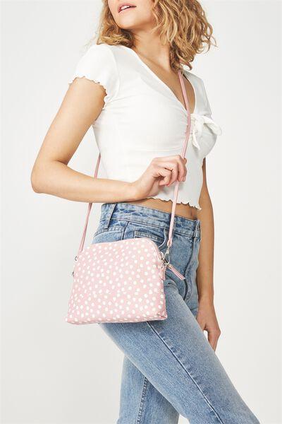 Billie Sling Bag, PINK SPOT