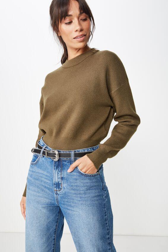 Western Skinny Studded Belt, BLACK W/ SILVER