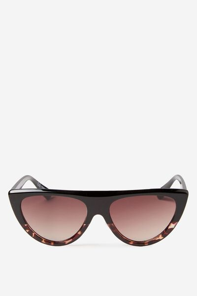 Stevie Sunglass, TORT GRAD/BROWN