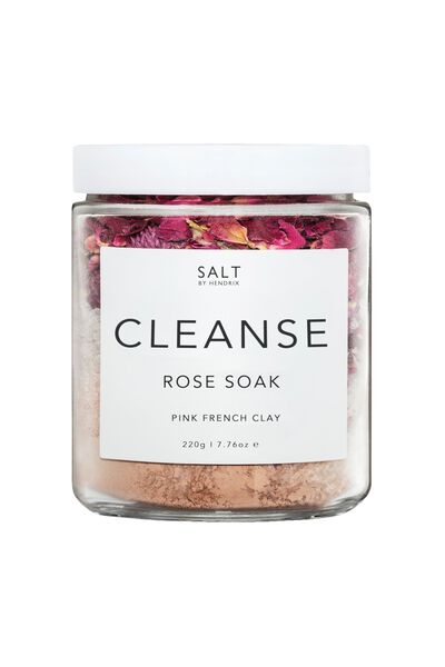 Salt By Hendrix Cleanse, ROSE AND PINK CLAY