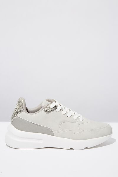Cherry Chunky Sneaker, GREY MULTI