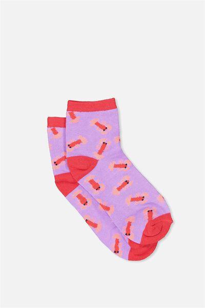 Fun Sock, CHRISSIE CRAY