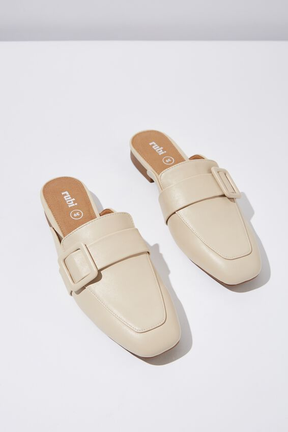 Mason Square Toe Buckle Mule by Cotton On