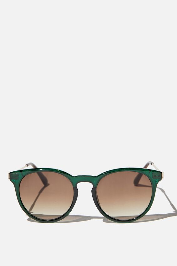Remi Sunglasses, HERITAGE GREEN