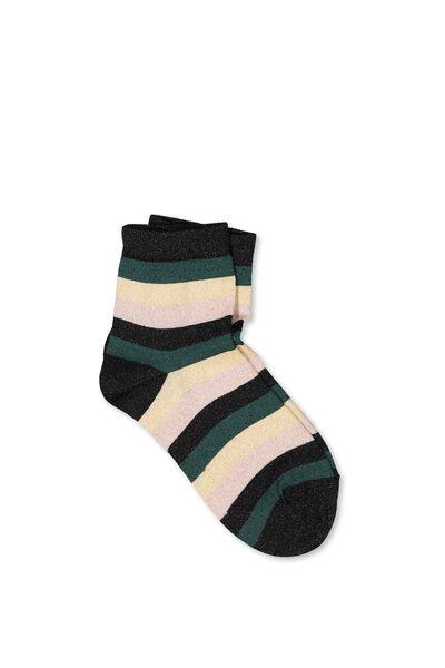 Dorothy Sparkle Sock, STRIPE