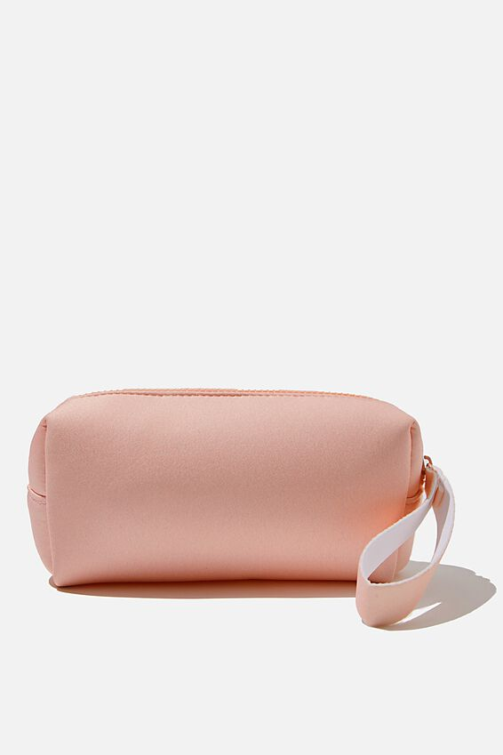 Day To Day Cosmetic Case, CORAL BLUSH