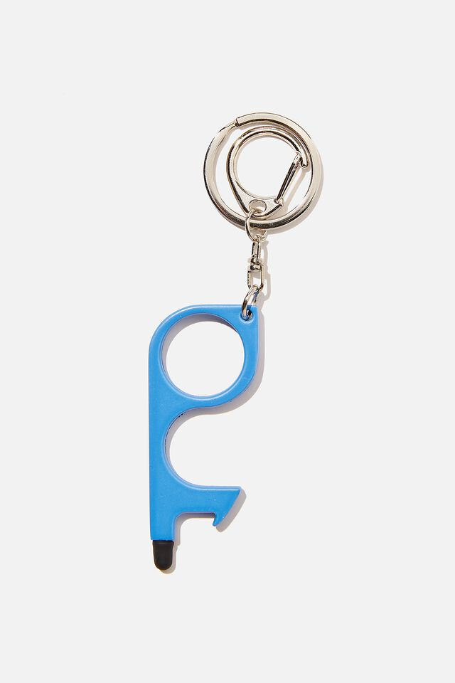 Touch Free Key Ring, NEW WAVE BLUE