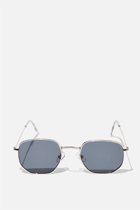 Erika Sunglasses, GOLD BLACK