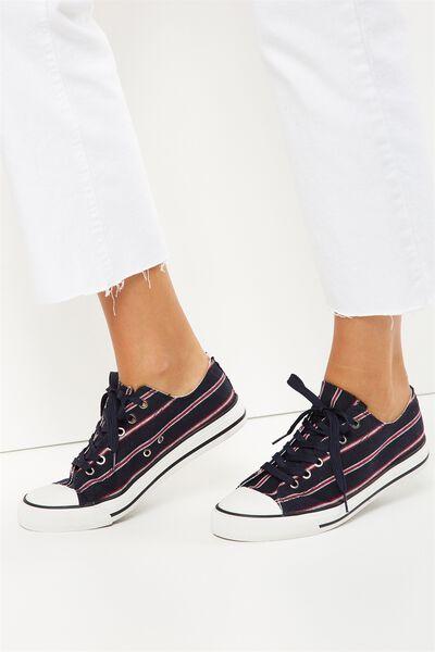 Jodi Low Rise Sneaker 1, VARSITY STRIPE