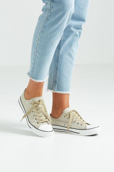 Jodi Low Rise Sneaker 1, BALSAM GREEN MONO