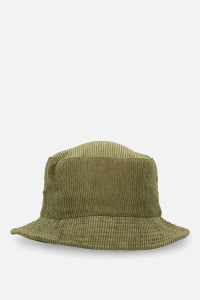 Bella Bucket Hat, KHAKI CORD