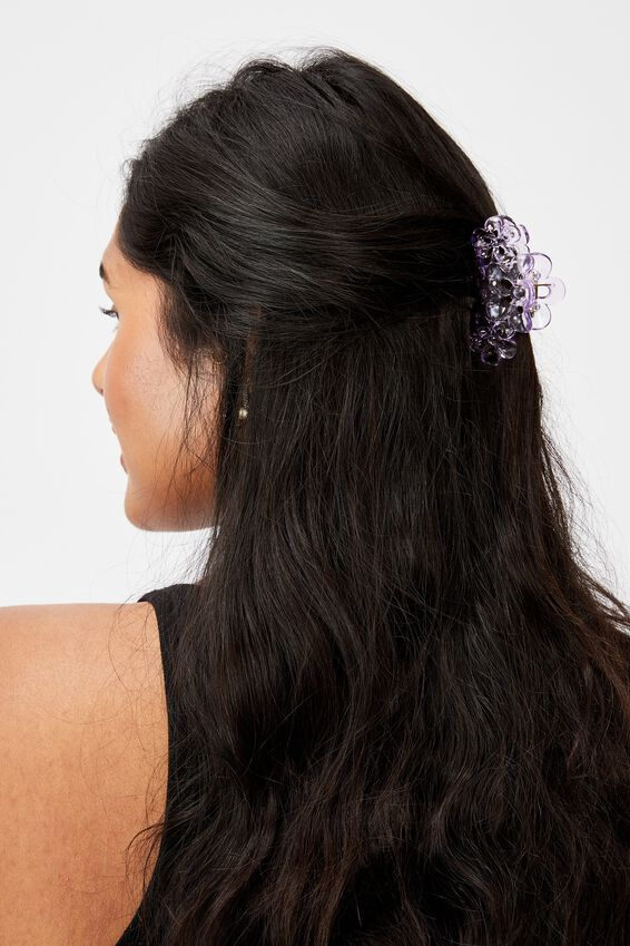 Phoebe Hair Claw, LILAC BLOOM