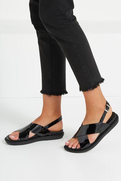 Nadine Sports Xover Sandal, BLACK