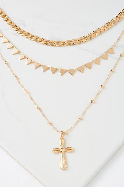 Miami Necklace, GOLD
