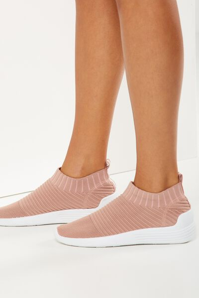 Kara Slip On Trainer, BLUSH