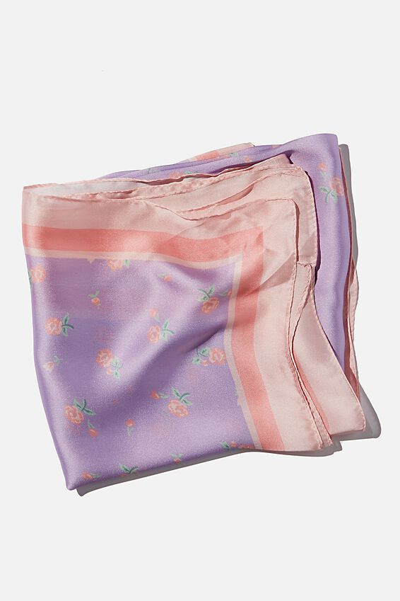 Versatile Scarf, CLARE DITSY LILAC BLOSSOM