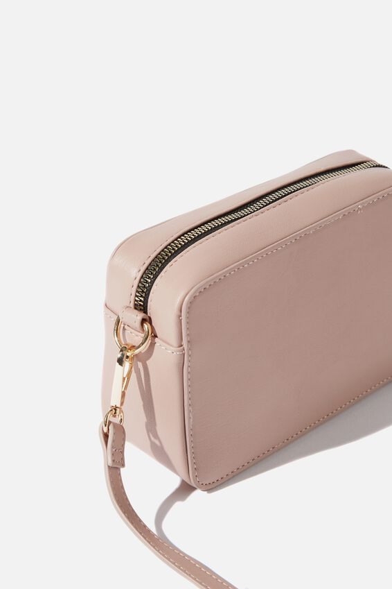 Stevie Boxy Cross Body Bag, BLUSH