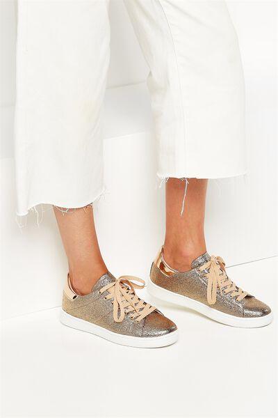 Cathryn Sneaker, ROSE GOLD PU