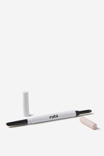 Brow Sculpting Pencil And Powder Duo, LIGHT BROWN