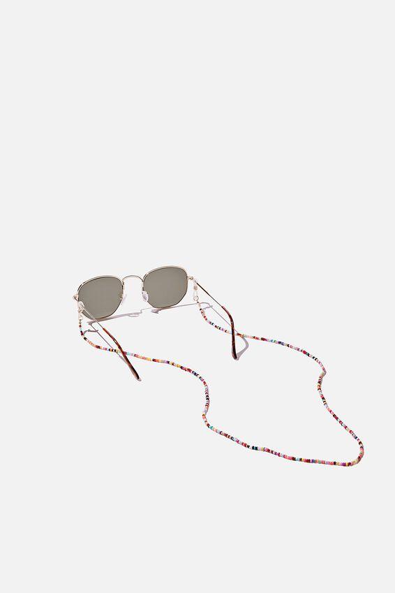 Beaded Sunnies Chain, BRIGHT BEADS