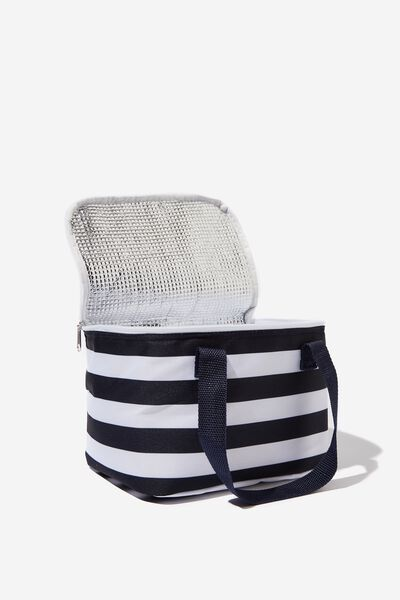 Chill Out Cool Bag, WIDE STRIPE PRINT