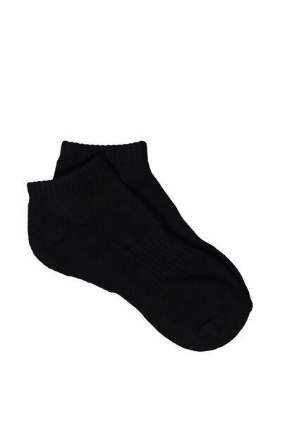 Active Basic Sock, BLACK