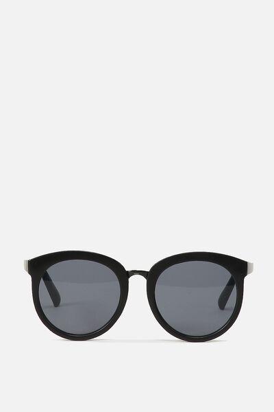 Mia Full Frame Sunglasses, M.BLACK