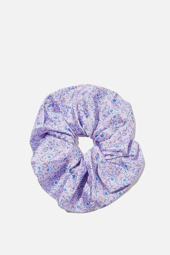 Super Scrunchie, ASHLEE DITSY LILAC BLOOM
