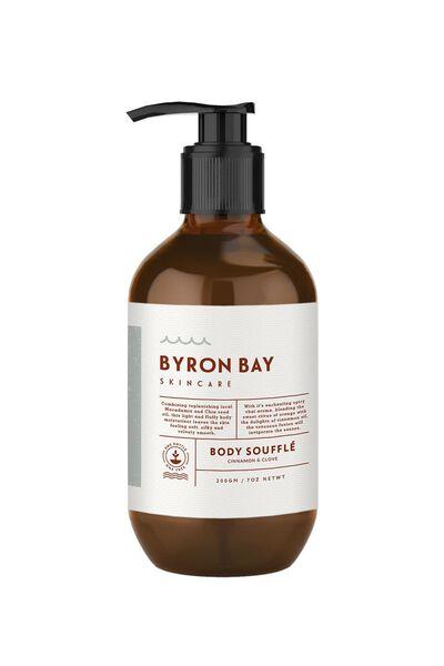 Byron Bay Skincare Body Souffle, CINNAMON & CLOVE
