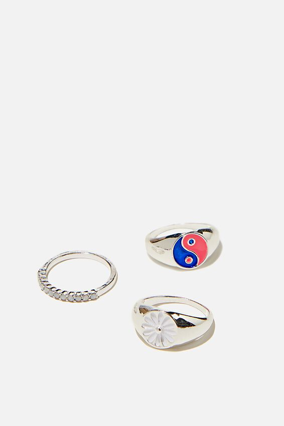 Brighter Days Ring Set, 90 S SILVER