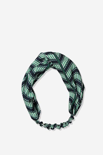 Manhattan Headband, GREEN LILANA GEO