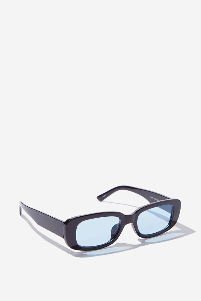 Abby Sunglasses, BLACK/BLUE