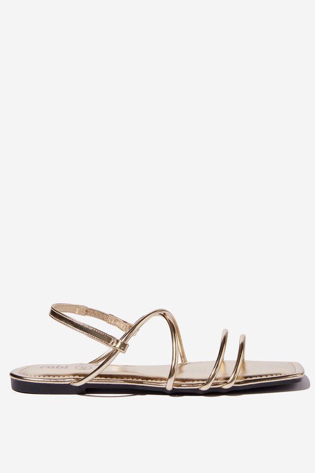 Everyday Danni Slingback Sandal, GOLD PU