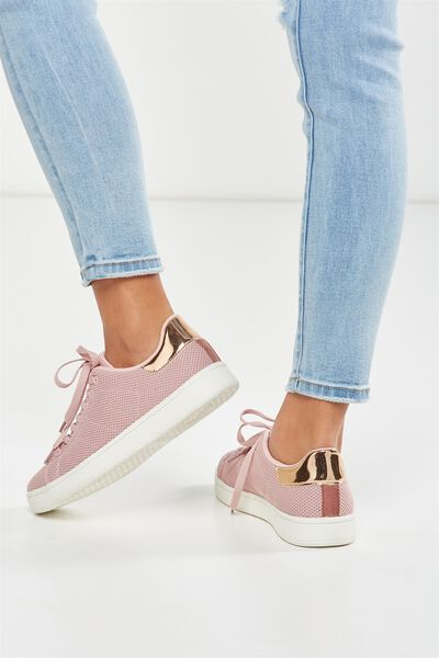 Cathryn Knit Sneaker, ROSE MESH