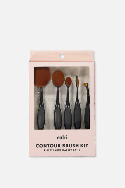 Contour Brush Set, BLACK