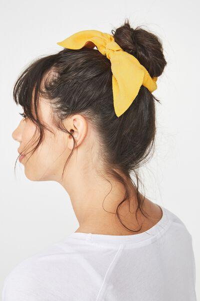 Bow Scrunchies, MUSTARD