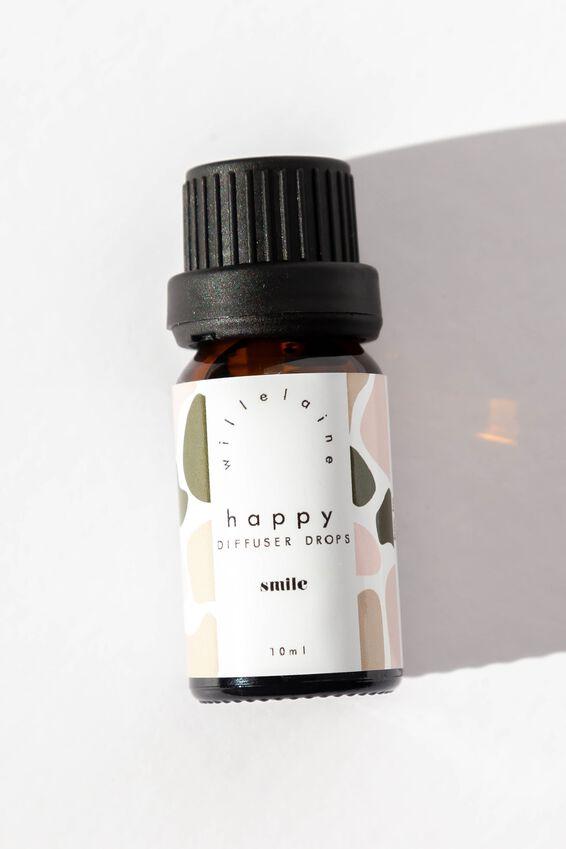 Willelaine Diffuser Drops, HAPPY