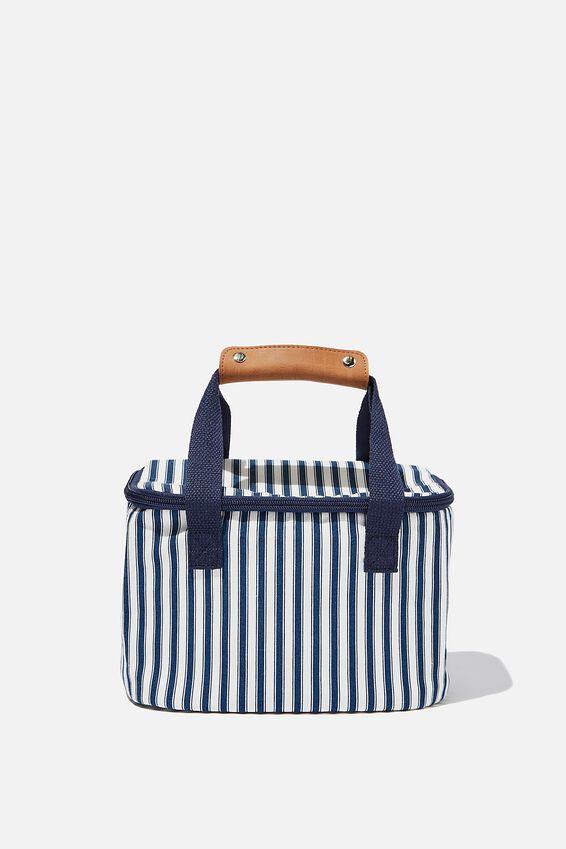Cooler Bag, NAVY STRIPE