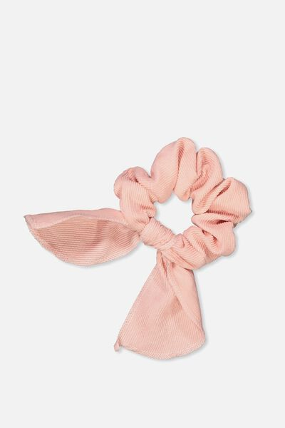 Bow Scrunchies, BLUSH