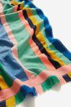 Love A Jacquard Towel, MULTICOLOR STRIPE