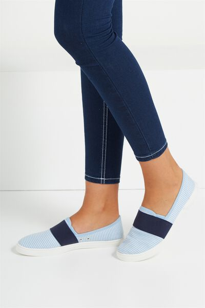 Harlow Slip On, SHIRTY STRIPE/NAVY