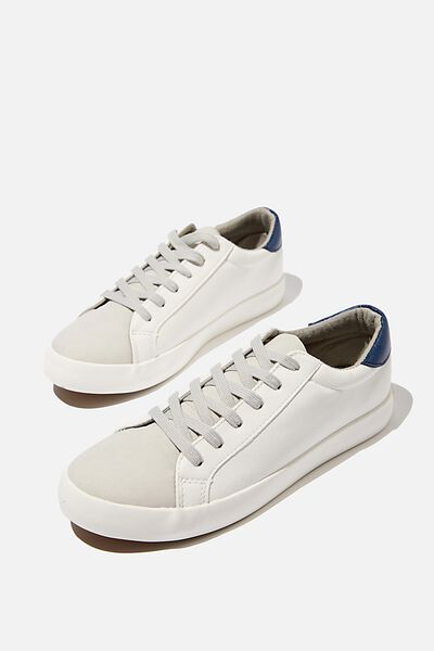 Ally Low Rise, WHITE NAVY