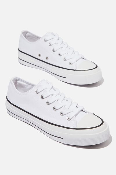 Billie Retro Low Rise, WHITE